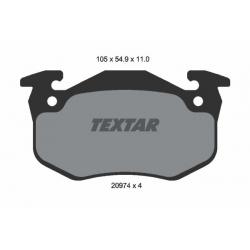 KLOCKI HAM. RENAULT T. MEGANE/CLIO/19/ZX/XSARA/206/306