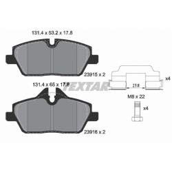 KLOCKI HAM. BMW P. 1/2 1,6-2,0 03-
