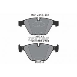 KLOCKI HAM. BMW P. 5 (E60/E61)/6 (E63/E64) 2,0-4,8 03-10 EPAD