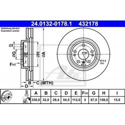 TARCZA HAM. DB P. W166 2,2-3,5 11-