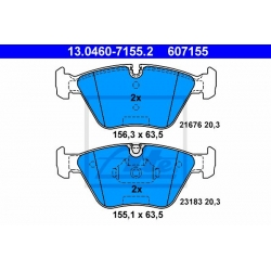 KLOCKI HAM. BMW P. 3/X3/Z4 2,0-3,0 00-11