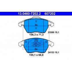 KLOCKI HAM. PEUGEOT P. 207/208/3008/307/308 1,0-2,0 03-