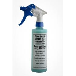 Poorboy's World Spray & Wipe 473ml