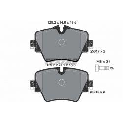 KLOCKI HAM. BMW P. 2/X1 1,5-2,0 14-