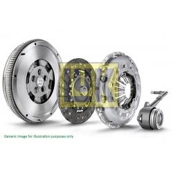 SPRZĘGŁO KPL. AUDI A3/ VW PASSAT/GOLF/CADDY/JETTA/TOURAN 2,0 TDI 03- DMF LUK 600 0017 00