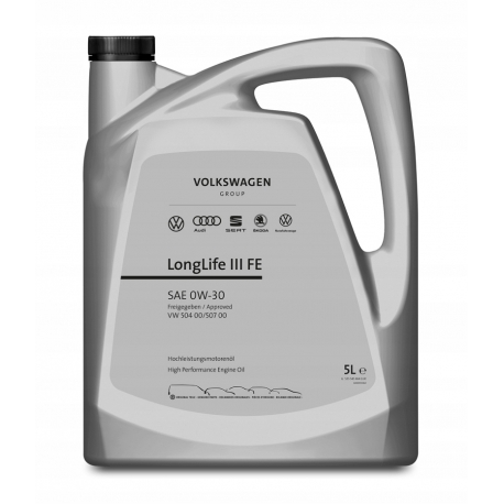 VW 0W-30 Longlife III FE 5L